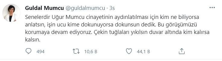 Güldal Mumcu: Duvar Altında Kim Kalıyorsa Kalsın - Medyafaresi.com Mobil